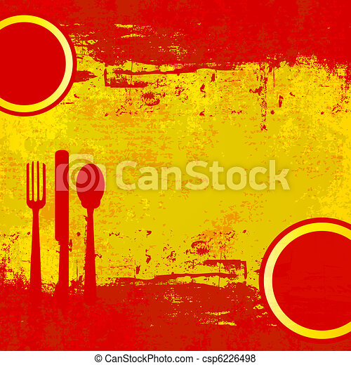 menu, hiszpański - csp6226498