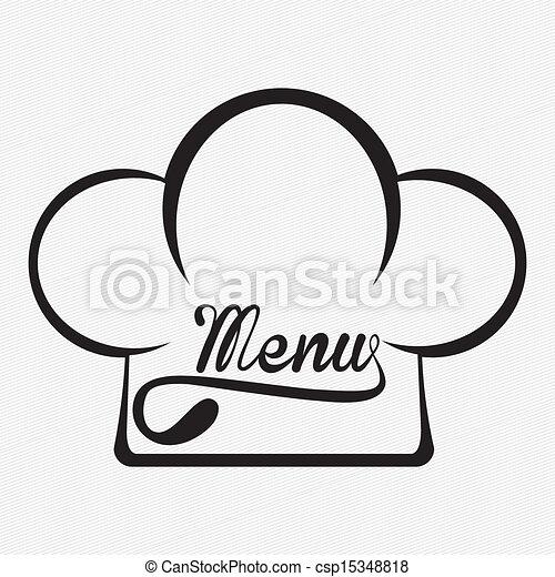 menu, projektować - csp15348818