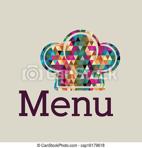 menu, projektować - csp16179618