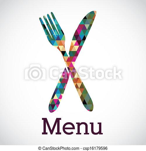 menu, projektować - csp16179596