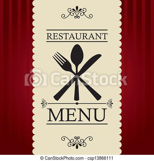 menu, restauracja - csp13866111