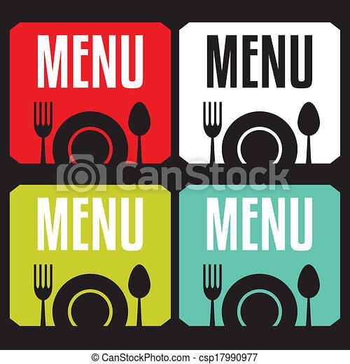 menu, restauracja - csp17990977