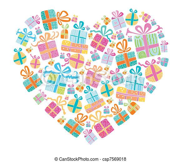miłość, przedstawia się - csp7569018