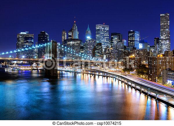 miasto nowego yorku - csp10074215
