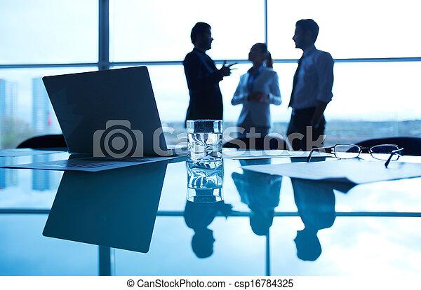 miejsce pracy, handlowy - csp16784325