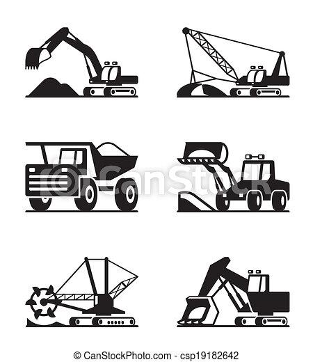 minning, maszyny budowlane - csp19182642