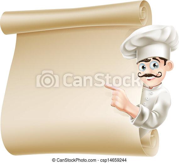 mistrz kucharski, menu, spoinowanie - csp14659244