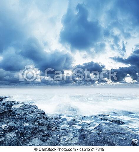 motyw morski - csp12217349