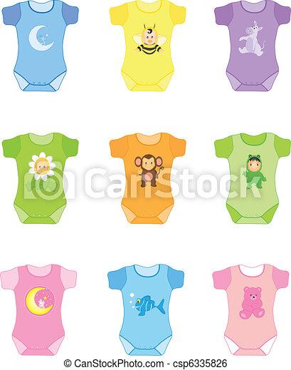 niemowlę ubranie - csp6335826
