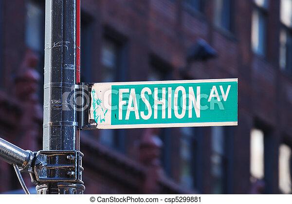 nowy, fason, aleja, york, miasto - csp5299881