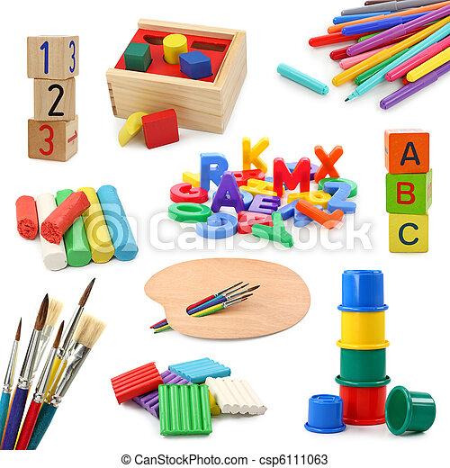 obiekty, preschool, zbiór - csp6111063
