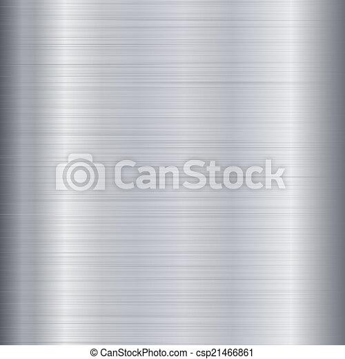 oczyszczony szczotką metal, struktura - csp21466861