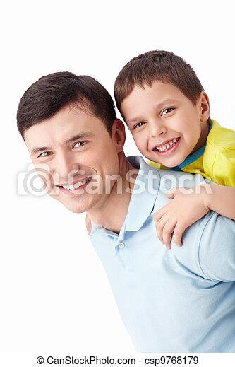 ojciec, syn - csp9768179