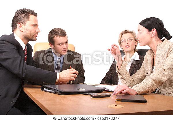 osoby, spotkanie, 4 - csp0178077