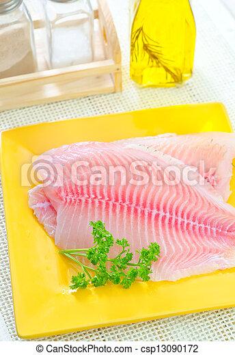 otrzyjcie skórę rybę - csp13090172