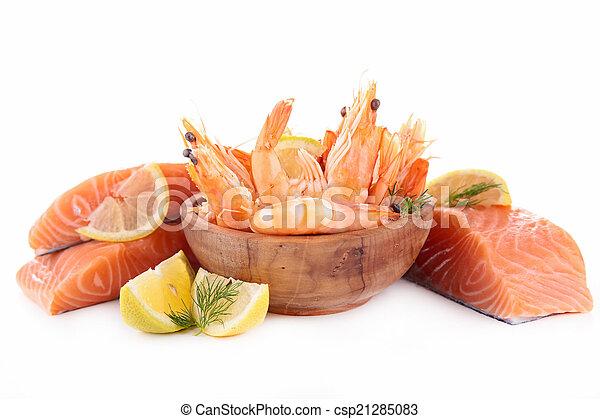 otrzyjcie skórę rybę - csp21285083
