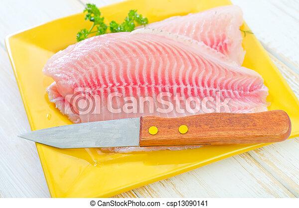 otrzyjcie skórę rybę - csp13090141