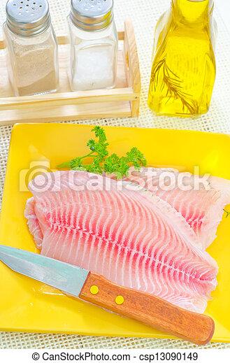 otrzyjcie skórę rybę - csp13090149