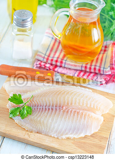 otrzyjcie skórę rybę - csp13223148