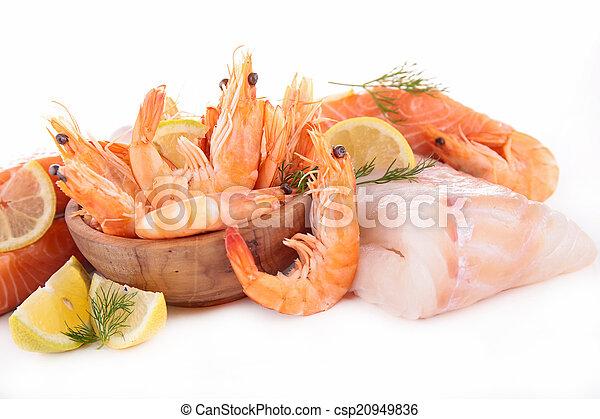 otrzyjcie skórę rybę - csp20949836