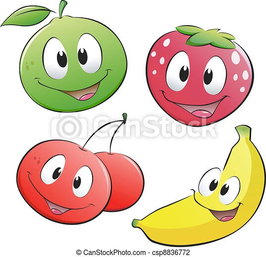 owoc, rysunek - csp8836772