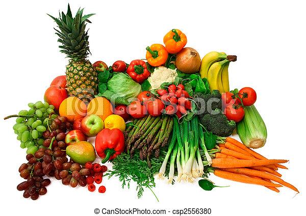 owoce, świeża zielenina - csp2556380