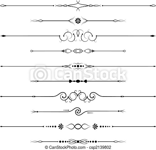 ozdoby, strona - csp2139802