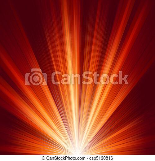 pękać, kolor, light., eps, ciepły, szablon, 8 - csp5130816