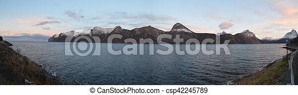 panoramiczny, 2, fiord - csp42245789