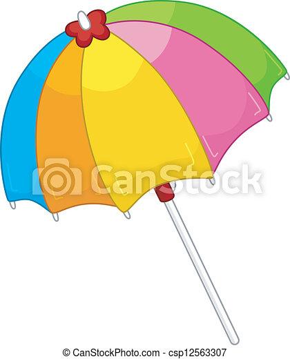 parasol plażowy - csp12563307