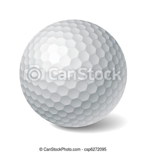 piłka, golf - csp6272095