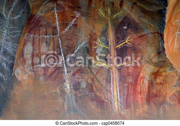 pierwotna sztuka, skała - csp0458074