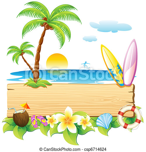 plaża, morze - csp6714624