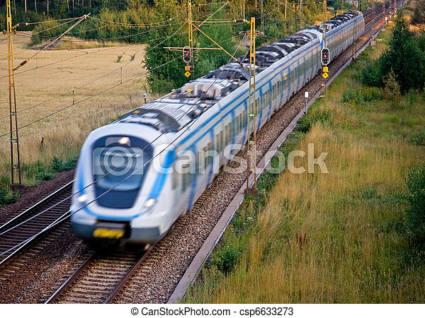 pociąg, commuter - csp6633273