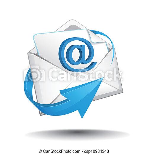 poczta, wektor - csp10934343