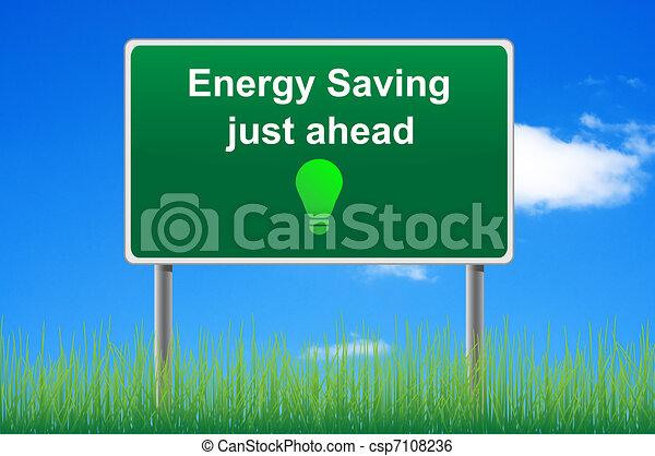 pojęcie, energia, niebo, zbawczy, znak, tło., droga - csp7108236