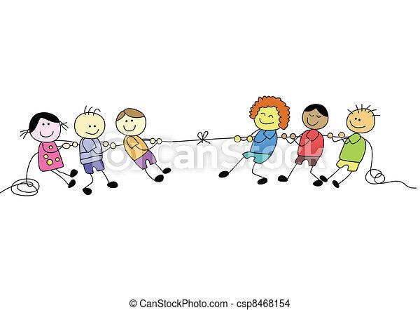 pole, szczęśliwy, dzień, koźlę - csp8468154