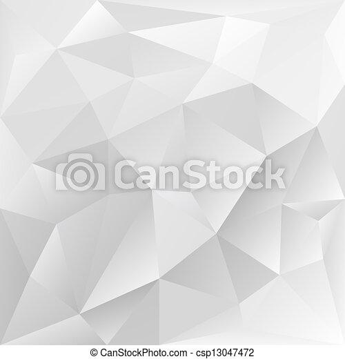 polygonal, zbiorowy, szary, tło, struktura - csp13047472
