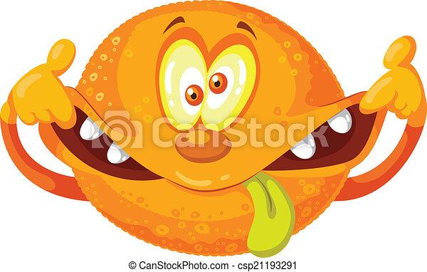pomarańcza, pomylony - csp21193291