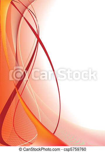 pomarańczowe tło, abstrakcyjny - csp5759760