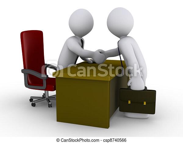 porozumienie, biuro - csp8740566