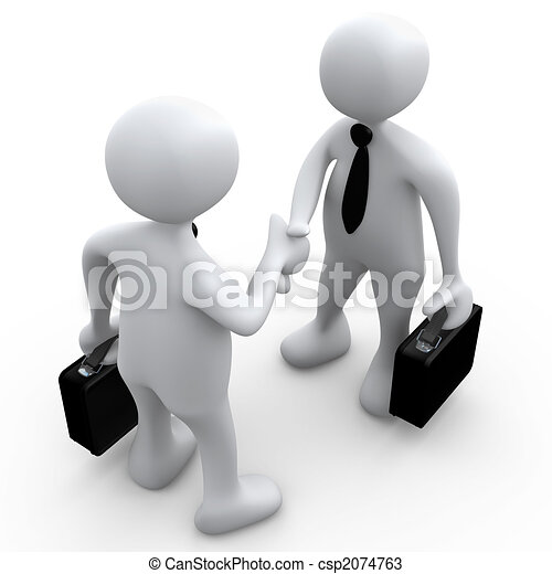 porozumienie, handlowy - csp2074763