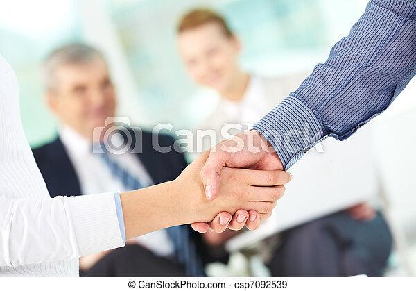 porozumienie, zrobienie - csp7092539