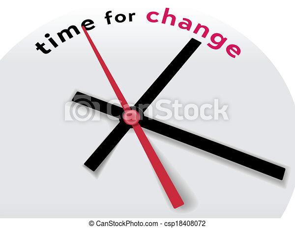 powiedzieć, siła robocza, czas, zmiana, zegar - csp18408072