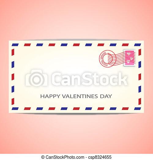 powietrze koperta poczty - csp8324655