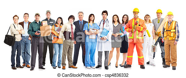 pracownicy, ludzie - csp4836332