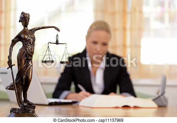 prawnik, biuro - csp11137969
