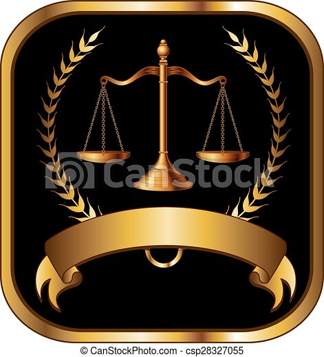 prawnik, prawo, albo, złoty lakują - csp28327055