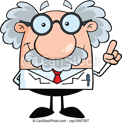 profesor, naukowiec, idea, albo - csp15447007