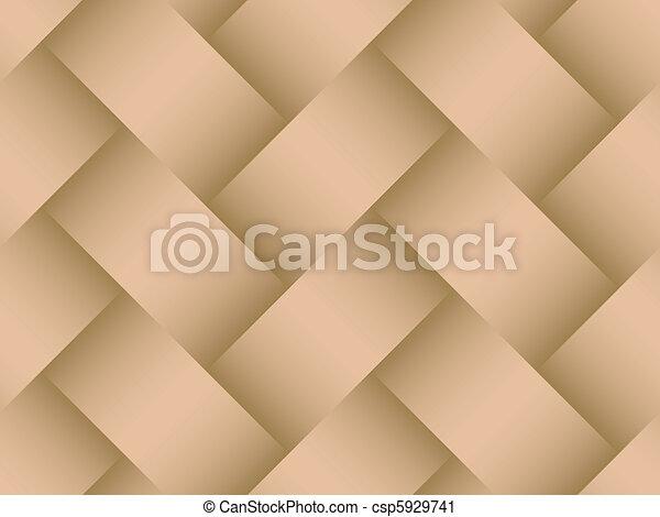 przekątny, tło, seamless, struktura, basketweave - csp5929741